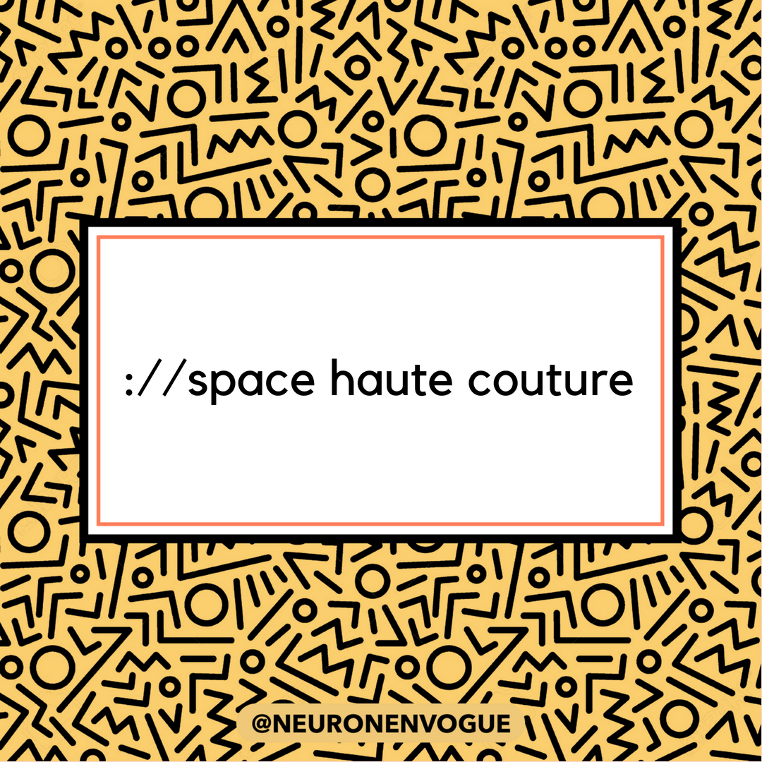 space haute couture