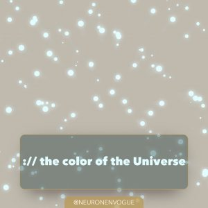 cosmic latte: color of the universe