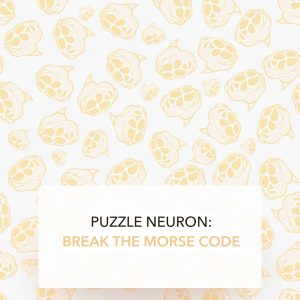 puzzle neuron: LEARN MORSE CODE