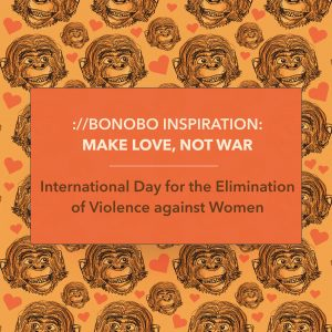 bonobos: make love, not war