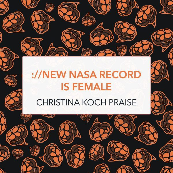 new NASA record is female